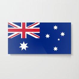Flag of Australia - Australian Flag Metal Print