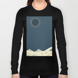 Total Solar Eclipse Art Long Sleeve T-shirt