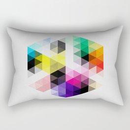 Geo Hex 01. Rectangular Pillow