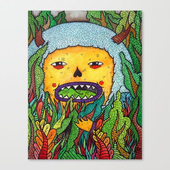 The Forest Dweller Canvas Print