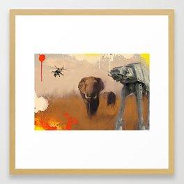 59 Framed Art Print