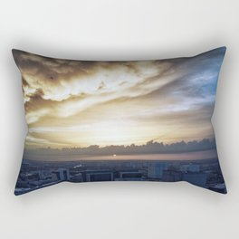 Serene Sunset Rectangular Pillow