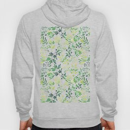 Four Plants Pattern Hoody
