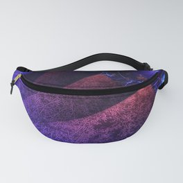 Pleated fantasy forest Fanny Pack