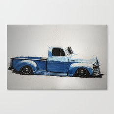 My First Truck Canvas Print