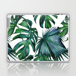 Tropical Palm Leaves Classic Laptop & iPad Skin