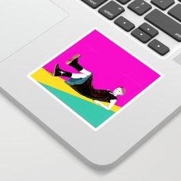 sae-pink Sticker