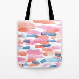 180527 Abstract Watercolour 5 | Watercolor Brush Strokes Tote Bag