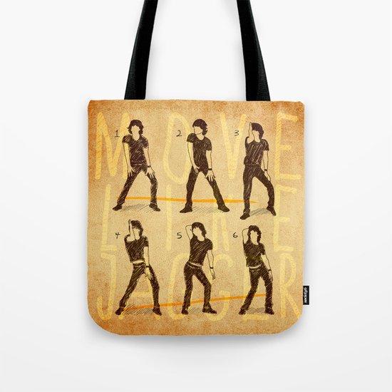 Move Like Jagger (MOVE LIKE COLLECTION) Tote Bag