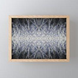 Sea water pattern Framed Mini Art Print