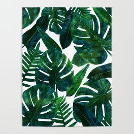 Perceptive Dream || #society6 #tropical #buyart Poster