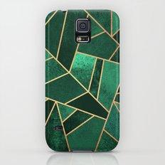 Emerald and Copper Galaxy S5 Slim Case