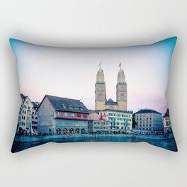 Quiet evening in Zurich Rectangular Pillow