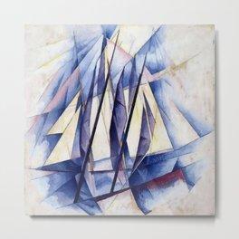 Sail Movements Metal Print