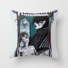 Rozzferatu - Fanart for Rozz Williams Throw Pillow