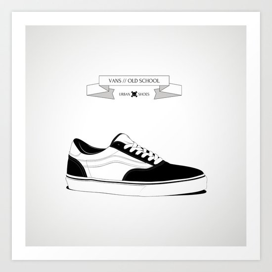 URBAN SHOES // 01 Art Print