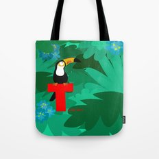 t for toucan Tote Bag