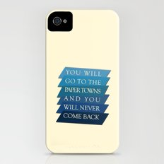 you will go to the paper towns Slim Case iPhone (4, 4s)
