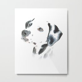Cute Dalmatian Puppy Metal Print