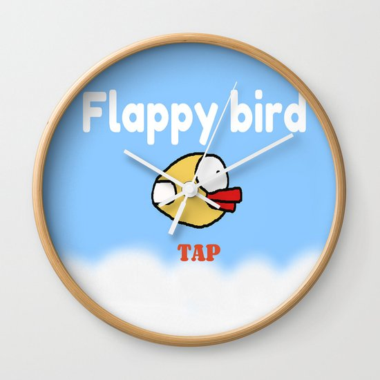 Flappy Bird Wall Clock