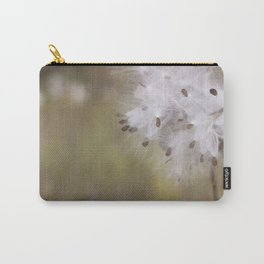 Milkweed Pod Carry-All Pouch