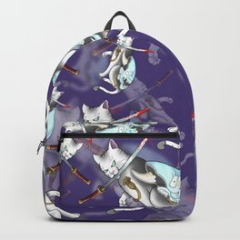 Hannya Kitty by Kevin Thrun Backpack