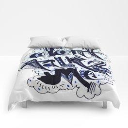 Don'tTalk2Me Comforters