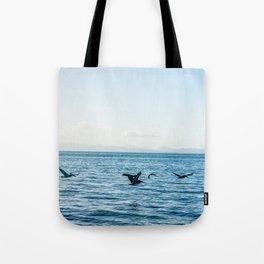 Flying Flock Tote Bag