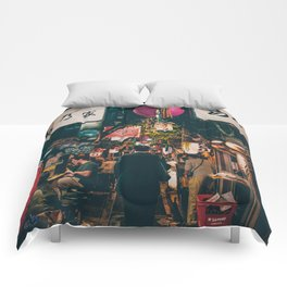 "PHOTOGRAPHY ""Typical Japan Street"" Comforters"