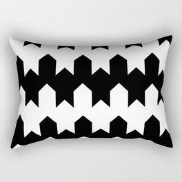 BW Tessellation 4 4 Rectangular Pillow