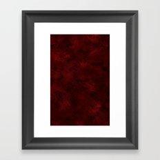 Flames & Ash Framed Art Print
