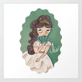 Miss Eli Art Print