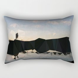 TRIAN - Twilight bridge Rectangular Pillow