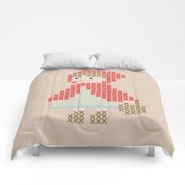 Red Riding Hood cross stitch Comforters