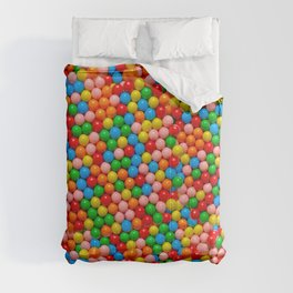 Mini Gumball Candy Photo Pattern Comforters