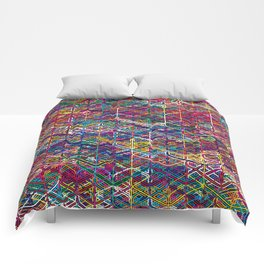 Cuben Network 2 Comforters