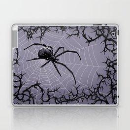 Briar Web - Gray Laptop & iPad Skin
