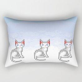 Transcendence Cat Rectangular Pillow