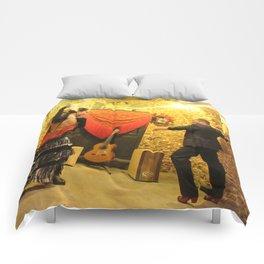 flamenco dancing Comforters
