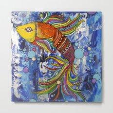 Colorful fish 1 Metal Print