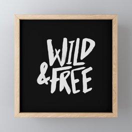 Wild and Free II Framed Mini Art Print