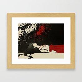 untitled death Framed Art Print