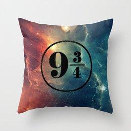 Platform 9 3/4 Nebula HP Throw Pillow
