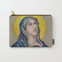 Mater Dolorosa Vintage Print, 1885 Carry-All Pouch