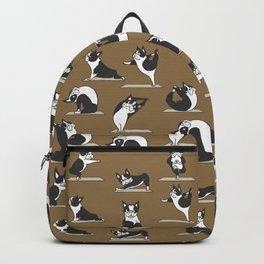 Boston Terriers Yoga Backpack