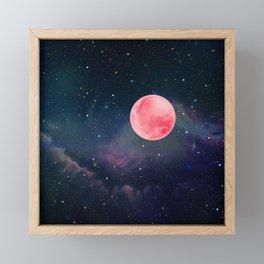Pink Moon Framed Mini Art Print