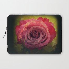 Rose Polygon Art Laptop Sleeve