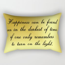 Happiness Can Be Found Rectangular Pillow