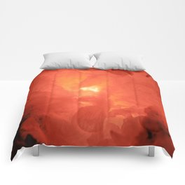 Textures (Red version) Comforters