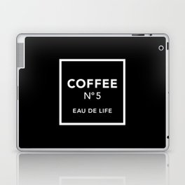 Black Coffee No5 Laptop & iPad Skin